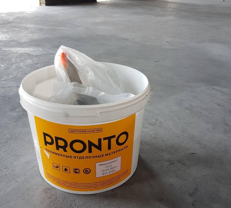 микро цемент